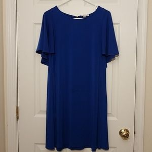 Calvin Klein blue swing dress
